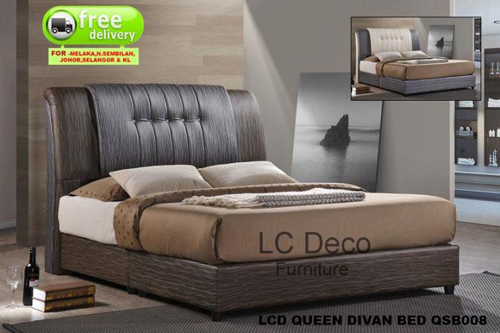 Lc Deco Queen Size Divan Bed Qsb008 Katil