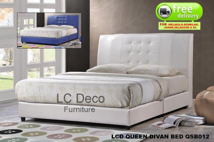 Lc Deco Queen Size Divan Bed Qsb012 Katil