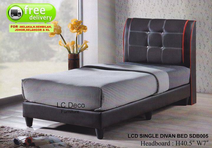 Lc deco single divan bed sdb005 kati end 8 25 2017 1 15 pm for Divan international