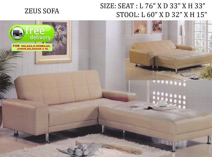 Tremendous Lc Deco Sofa Bed Zeus Katil Kerusi Evergreenethics Interior Chair Design Evergreenethicsorg