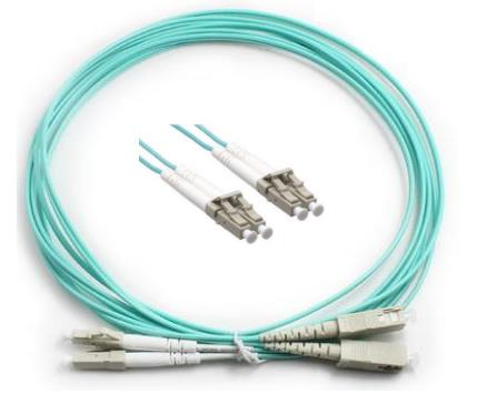 LC-LC 50/125 10GIG OM3 Multimode Fiber Patch Cable 10 Meter (S113)