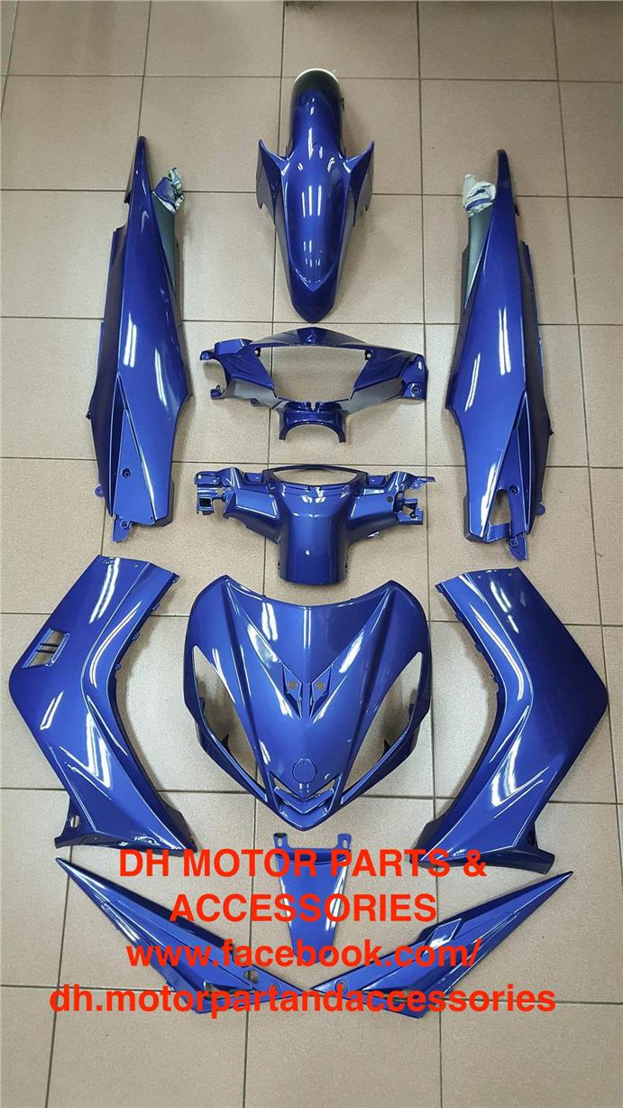 LC135 V1 5ES (CLUTCH) COVER SET (DPBMC BLUE)