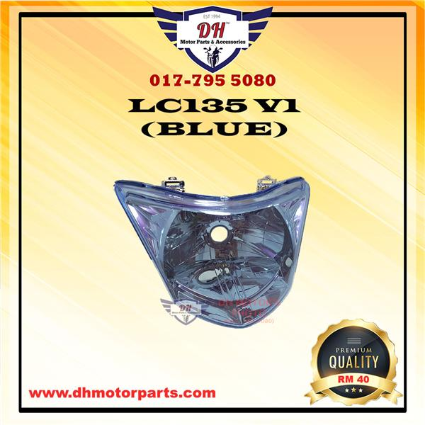 LC135 V1 BLUE HEAD LAMP