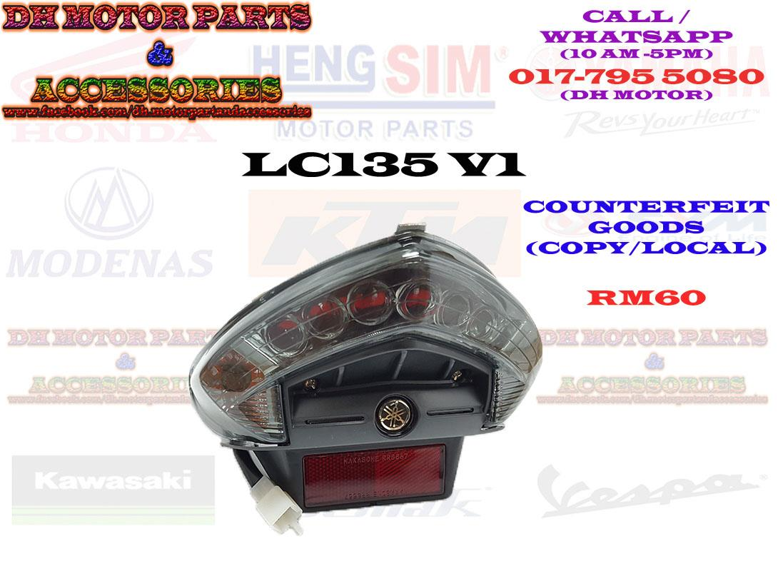LC135 V1 TAIL LIGHT X1R