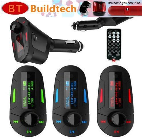 LCD Car Kit MP3 Player Wireless FM Transmitter