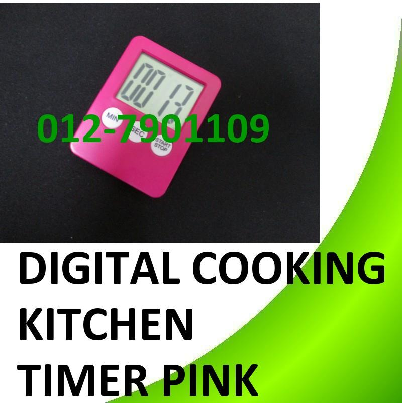 LCD Digital Cooking Kitchen Timer Count-Down Up Clock Loud Alarm