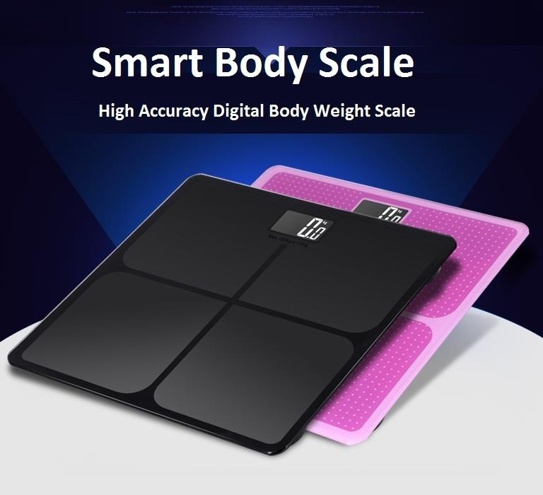 LCD Digital High Precision Body Weight Weighing Scale