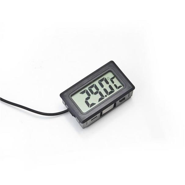 LCD Digital Thermometer for Fridge/Freezer/Aquarium Temperature -Black
