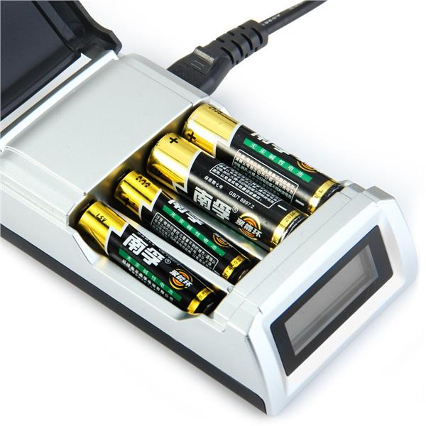 LCD Display Smart Intelligent Battery Batteries Charger 2AAA 3AAA