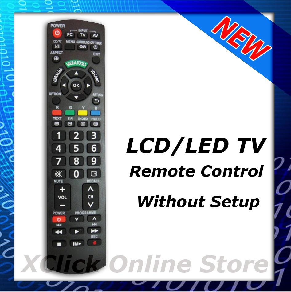 LCD LED TV Remote  Comaptible For Panasonic. U2039 U203a