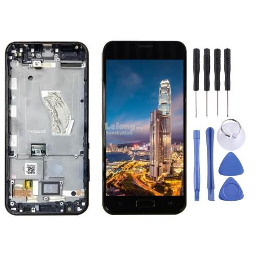 LCD Screen and Digitizer Full Assembly with Frame