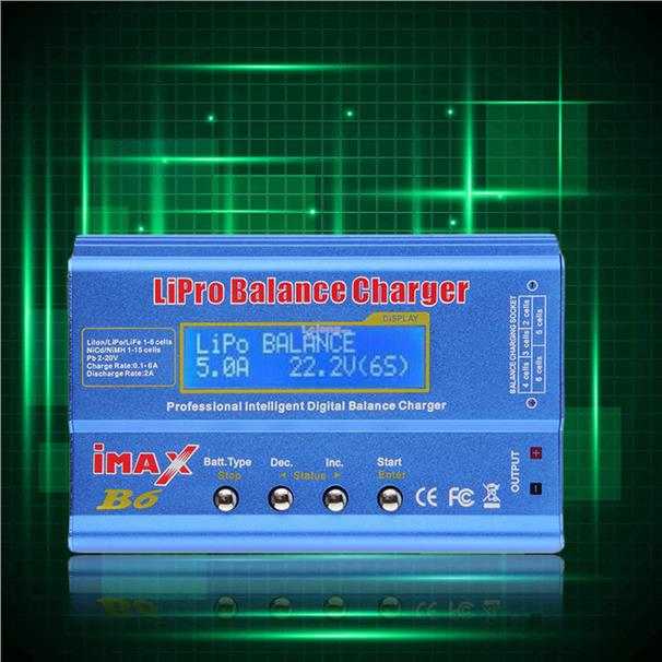 LCD Screen Lipo Li-ion Ni-MH LiFe RC AIO Battery Balance IMAX B6