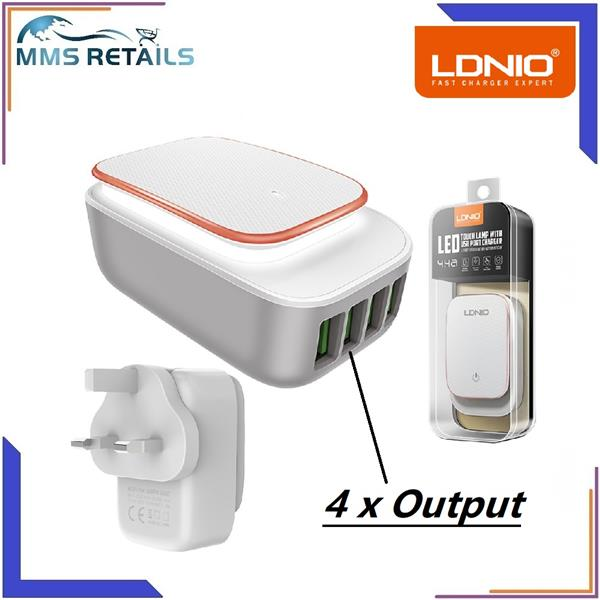ldnio white 4 ports cell phone home end 1 17 2020 2 15 pm rh lelong com my