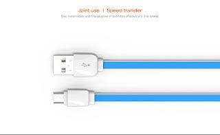 LDNIO XS-07A Apple IOS Lightning and MICRO USB Cable 1 METER