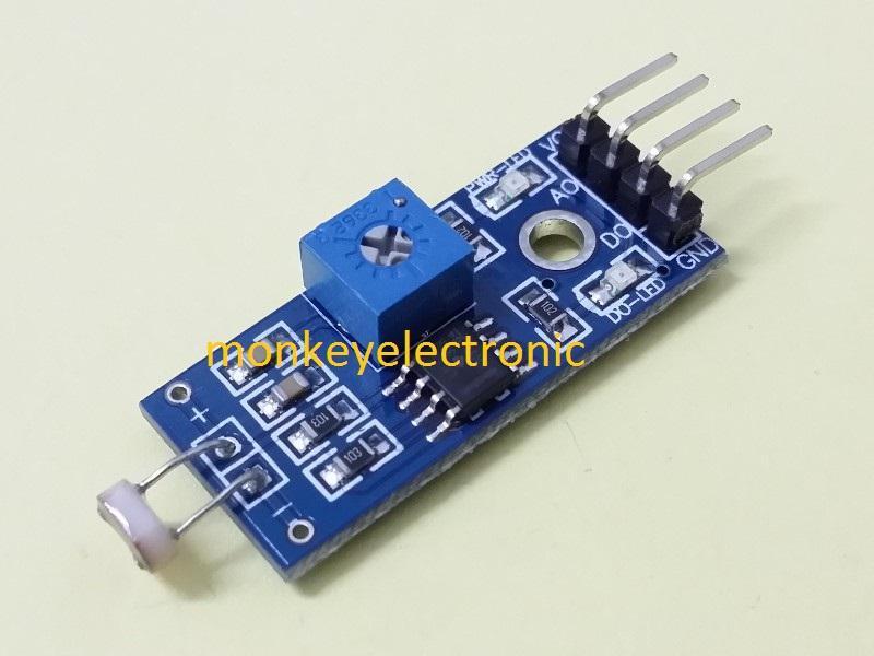 LDR light sensor module for Arduino (end 7/7/2019 10:01 PM)