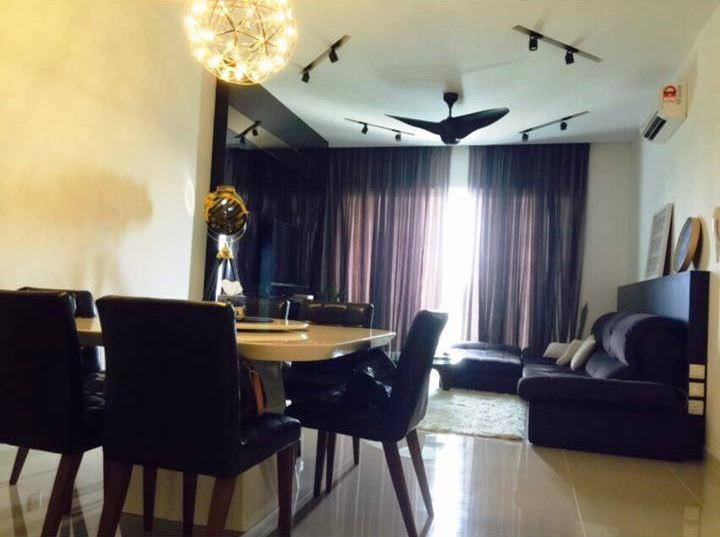 Le Yuan Condo for sale, 2 Car Parks, Fully Furnished, Kuchai Lama