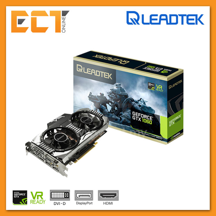 Leadtek WinFast GTX1060 Hurricane 6GB DDR5 Graphic Card