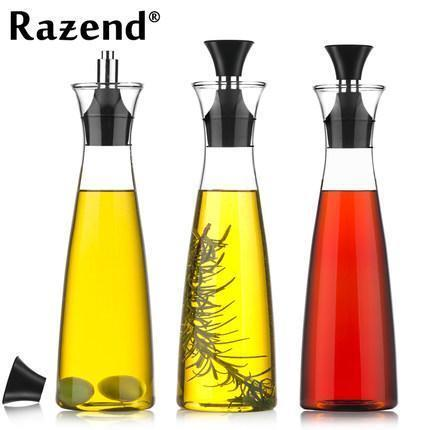 Bon Leak Proof Oil Dispenser Oil Bottle Cooking Seasoning Cruet Container. U2039 U203a