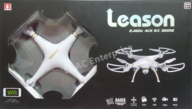 Leason LS-126 WIFI FPV Camera 2 4G 33cm RC Quadcopter UFO Drone B+W