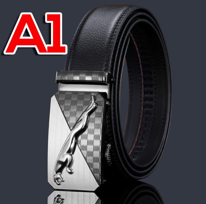 Leather Automatic Buckle Men''s Fashion Belt Tali Pinggang