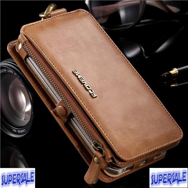 Leather Casing Case Cover with front cover for Samsung Note 3/4/5