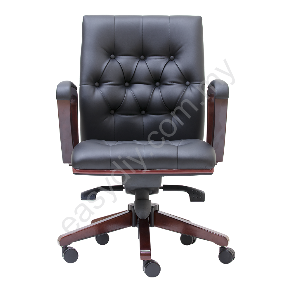 Leather | Director Office Chair | Duty Low Back Chair - E 2323H