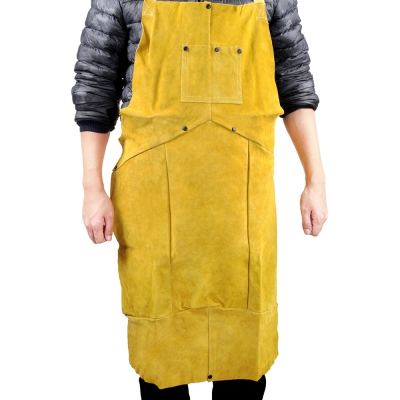 Leather Electric Welding Apron Blacksmith Protective Save-all Clothing
