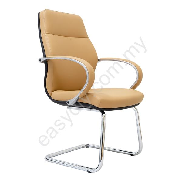 Leather / Fabric Office Chair / Berge Visitor Office Chair E 3054S