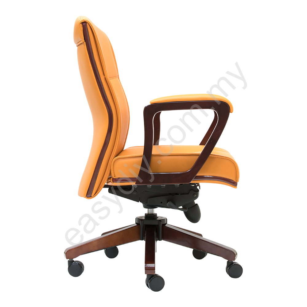 Leather / Fabric Office Chair / Elite Low Back Chair E 2373H