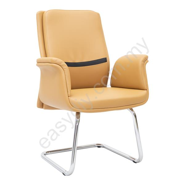 Leather / Fabric Office Chair / Hapi  Leather Visitor Chair E 2984S