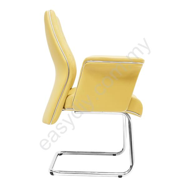 Leather /  Fabric Office Chair / Huro Visitor Chair E 2884S