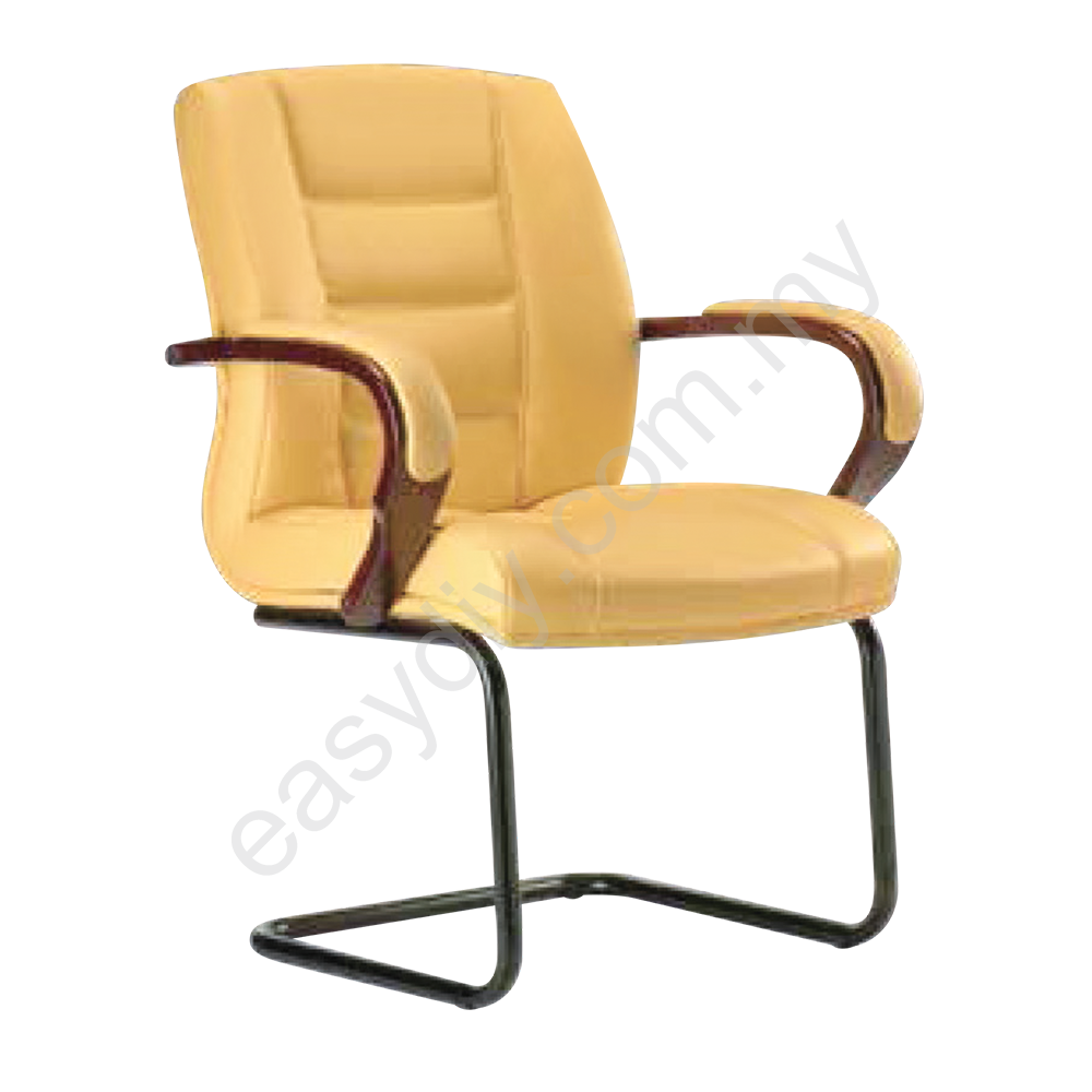 Leather / Fabric Office Chair / Vero Visitor Office Chair E 1034S