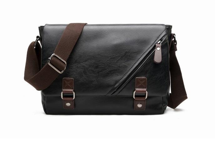 Leather Messenger Sling Bag For Men 2017 Wallet Travel Office Sport