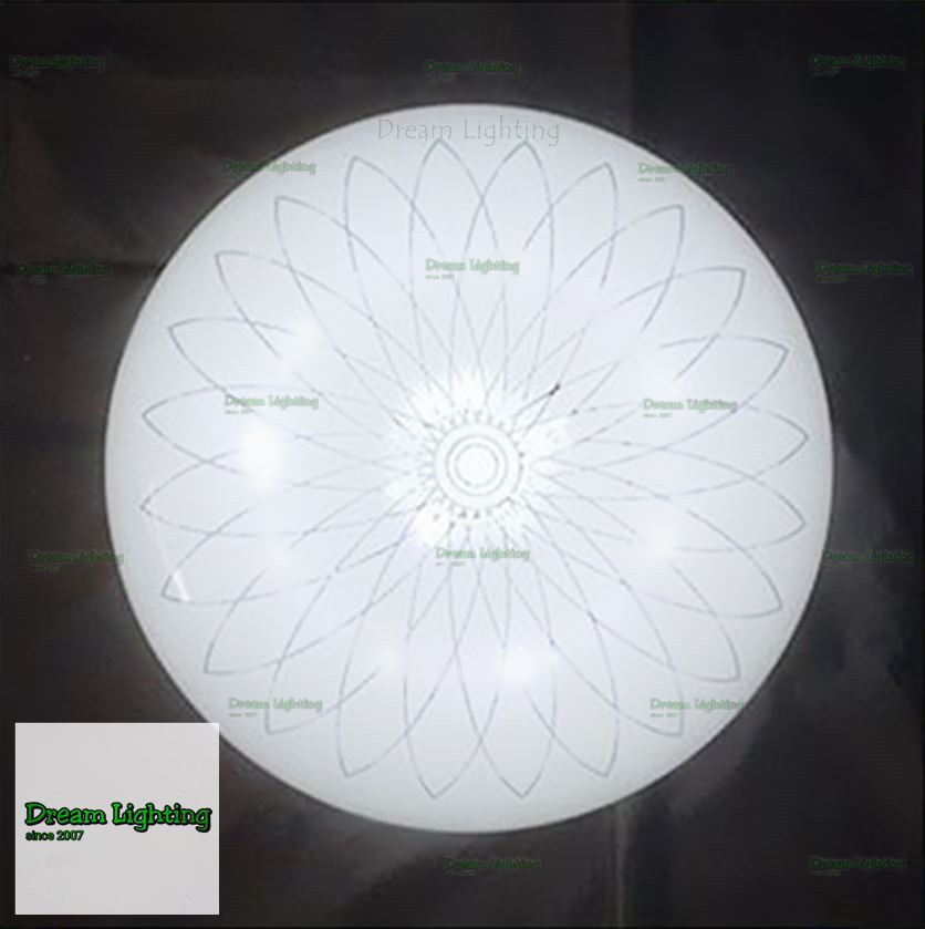 LED 24w Best Seller Round Simple Cozy Creative Living Room Bedroom Fix
