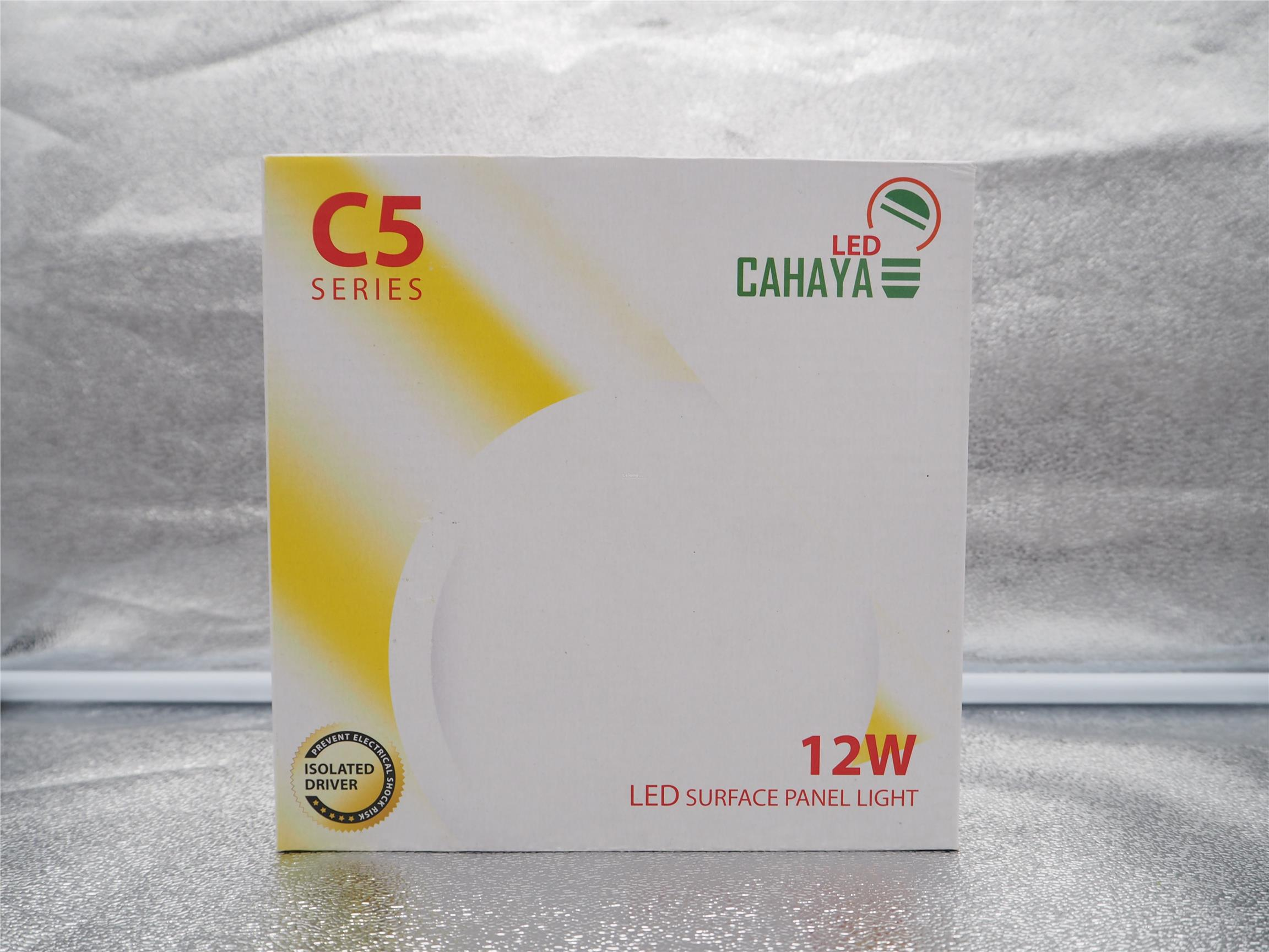 LED CAHAYA 12W LED SURFACE PANEL LIGHT