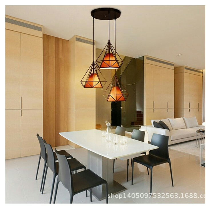 Led Chandelier For Cafe Bar Dining Room Pendant Lamp Clothes Store Bar
