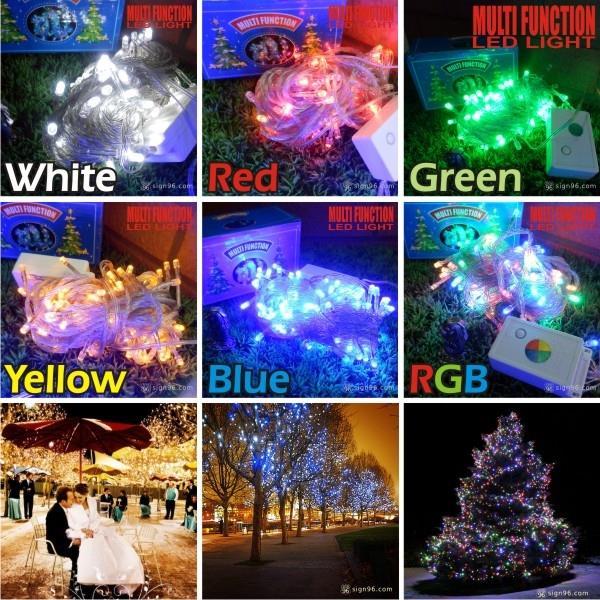 led christmas lights multi function sparke string fairy lights
