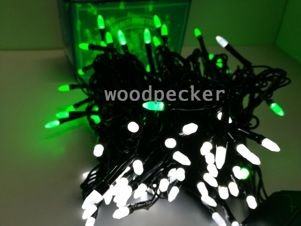 LED Decoration Light Green and White 100 L 10m 6209279
