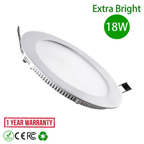 LED Downlight 18W 8 Inch Plaster Ceiling Round Warm White 3500K