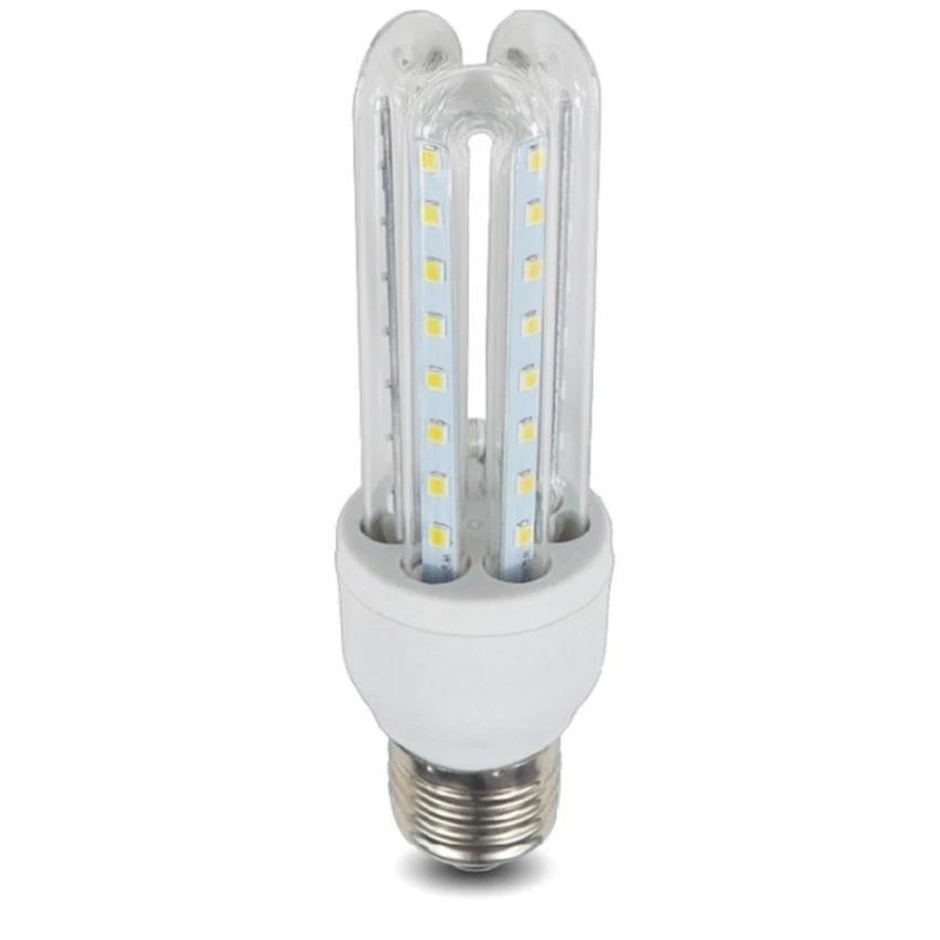 E27 Led 9w 3u Shaped Daylightwhite Bulb 345LARj