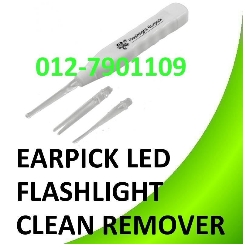 LED Flashlight Earpick Ear Pick Wax Remover Clean Cleaner Remover