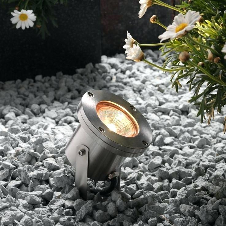 LED Garden Spot Light with 9W LED Bulb