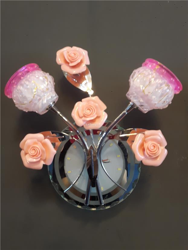 Led glass flower wall light end 2212018 115 pm led glass flower wall light aloadofball Images