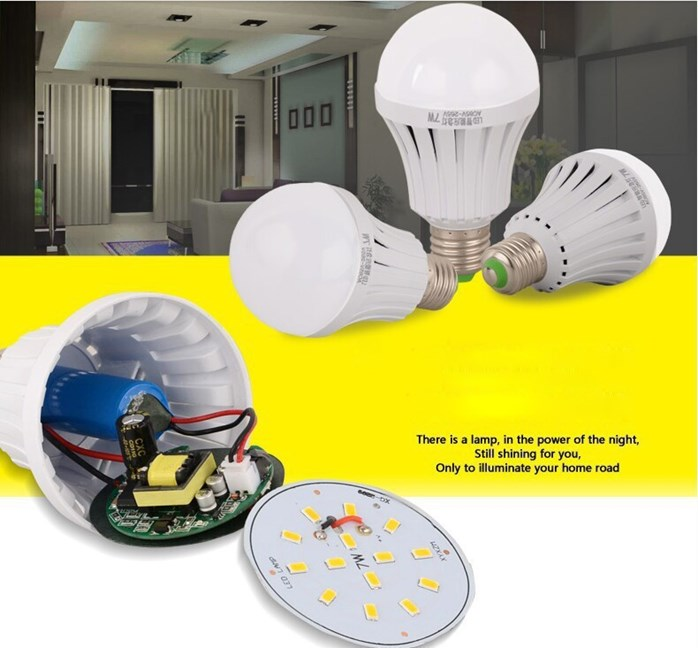 LED Intelligent Emergency Bulb