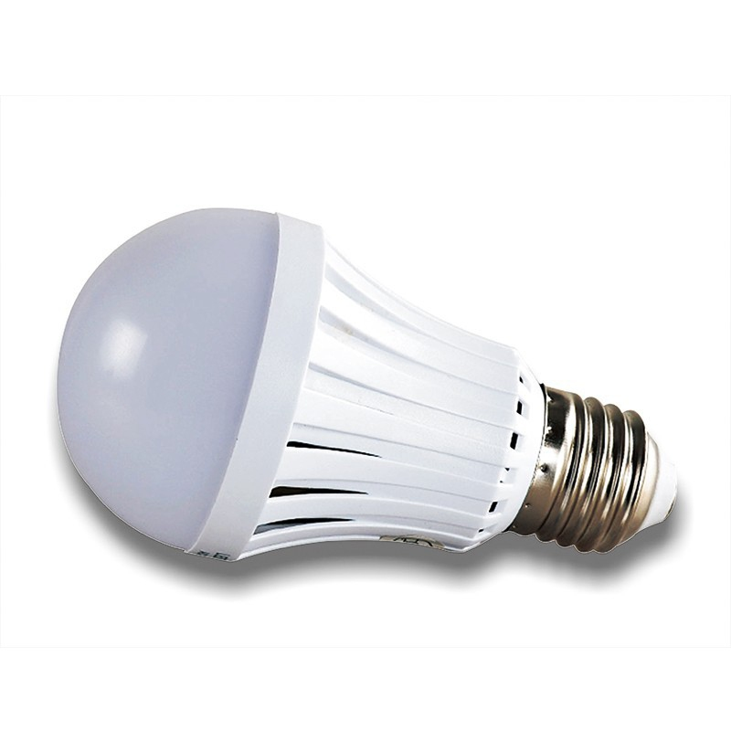 Led Intelligent Emergency Light Bulb Rechargable 7w E27 Power Energy Sav