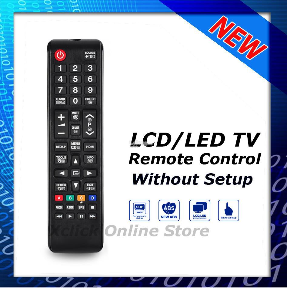 LED LCD Remote- COmpatible for TV Samsung