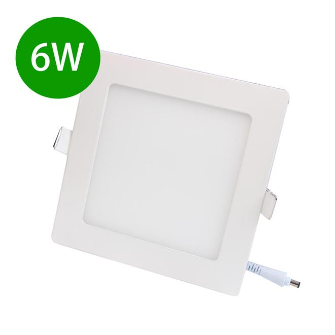 LED Light Ceiling Light Slim Panel Downlight 6W Home Office Shop