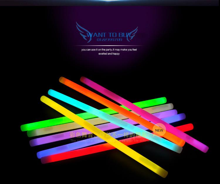 LED Light Sticks Chemical Glow Sticks 15 inches Chemical Neon Stick