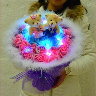 Led Light Teddy Bear Bouquet Birthda End 11 7 2020 6 18 Pm