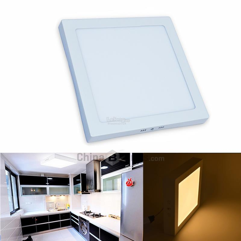 premium selection 85f18 756b4 LED Panel Light 24W Surface Downlight Square Warm White